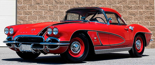 1962 Big Brake Fuelie Tanker Corvette Coupe