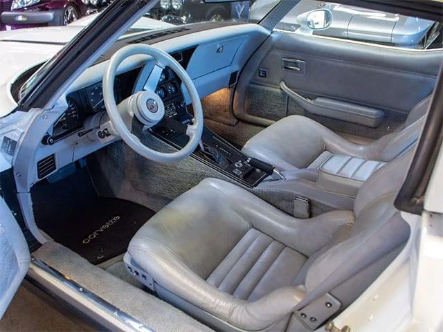 1982 white silver interior