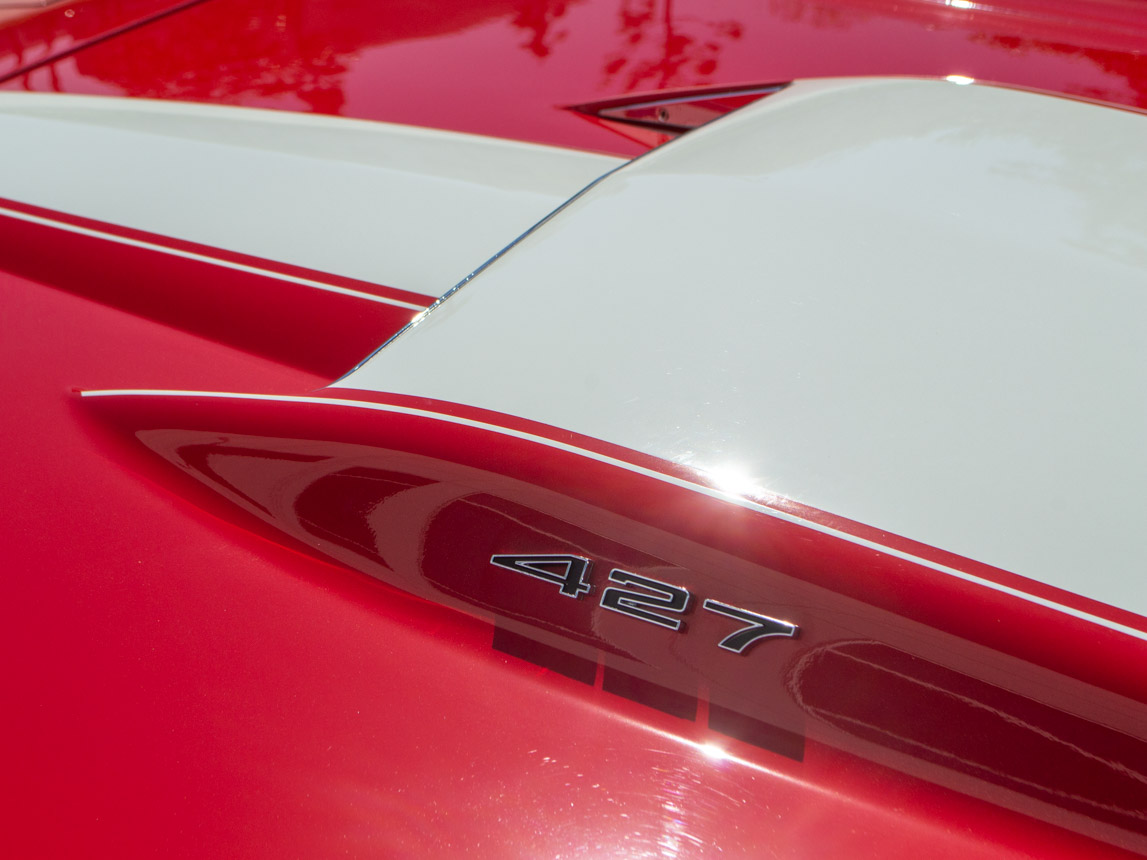 1967 rally red corvette l71 427 435 coupe 0683
