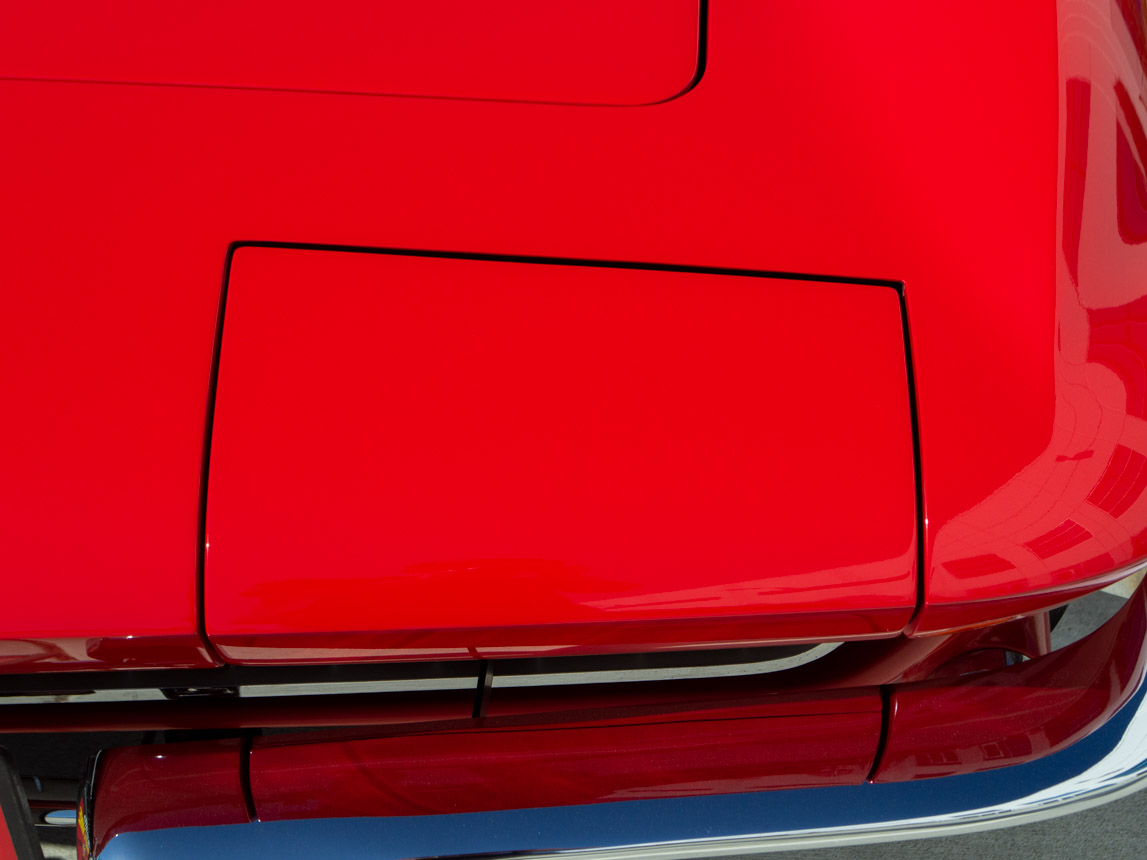 1967 rally red corvette l71 427 435 coupe 0686