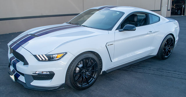 2016 white shelby mustang exterior