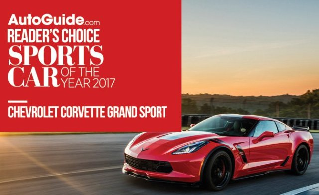 Chevrolet Corvette Grand Sport Wins 2017 AutoGuide.com Reader's Choice Sports Car of the Year Award