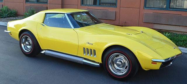 1969 Chevrolet Corvette Coupe Daytona Yellow