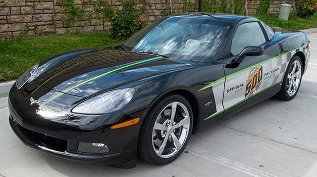 2008 black corvette indianapolis 500 pace car coupe coming 1