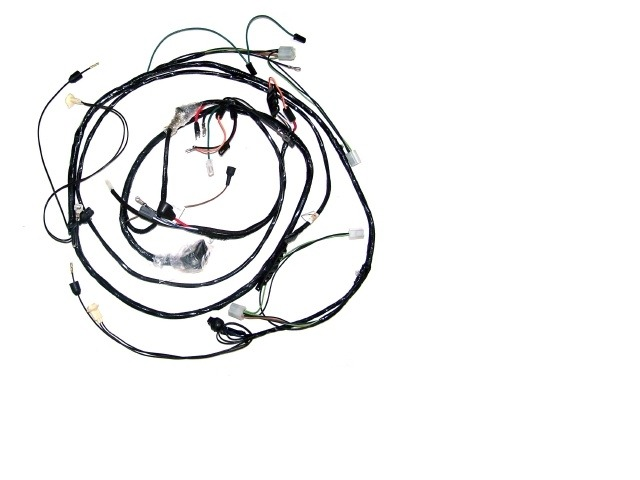 1968 Corvette Wiring Harness, headlamp (with fiberoptic