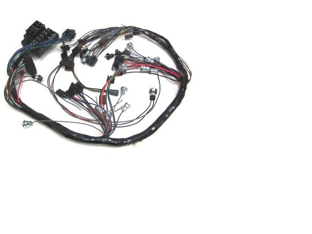 1965 Corvette Wiring Harness, main dash (with reverse