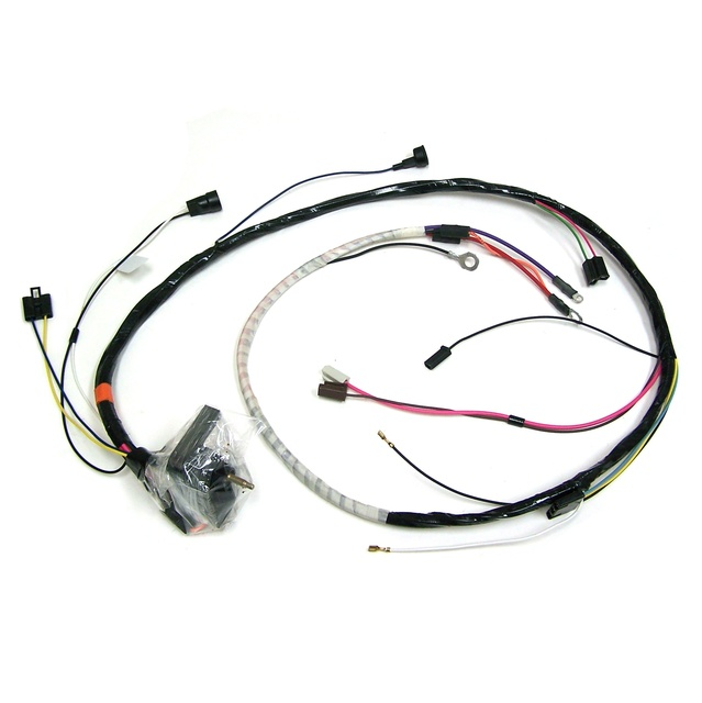 1975 Corvette Wiring Harness, engine (manual) without