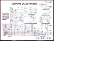 1961  1962 Corvette Diagram, electrical wiring: CorvetteParts