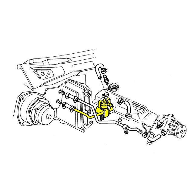 1984 Corvette Heater Valve, coolant / water shut-off