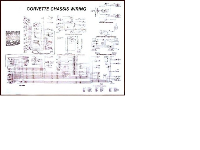 1976 Corvette Diagram, electrical wiring: CorvetteParts.com