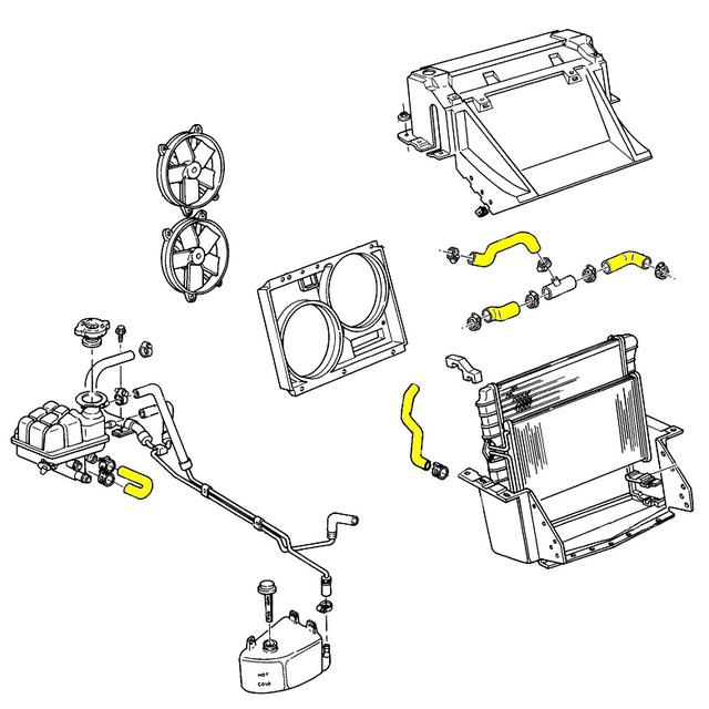 C4 Corvette Radiator Replacement, C4, Free Engine Image