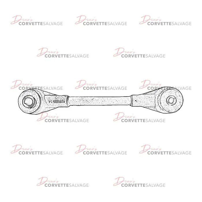 C4 Used Rear Wheel Spindle Upper Control Rod 1984-1996
