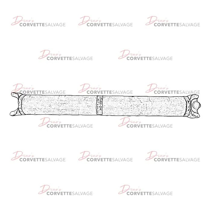 C4 Used Manual Transmission Drive Shaft 1985-1996