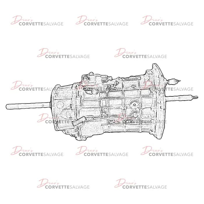 C5 Used LS1 6 Speed Manual Transmission 1997-2004