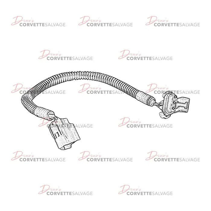 C5 Used Electronic Brake Control Wiring Harness Extension