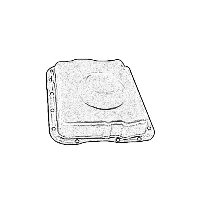 C5-C6 Used Automatic Transmission Oil Pan 1997-2005