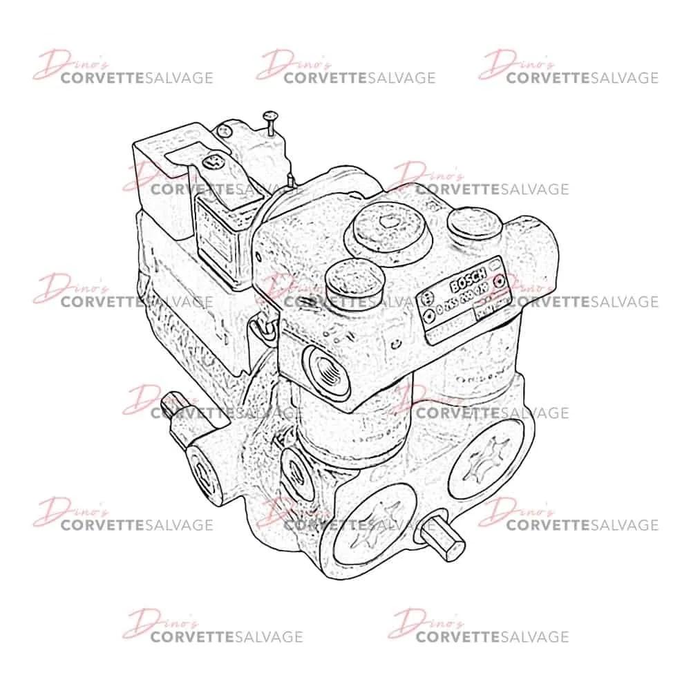 C4 Brake Pressure Modulator Valve Rebuilding Service 1986
