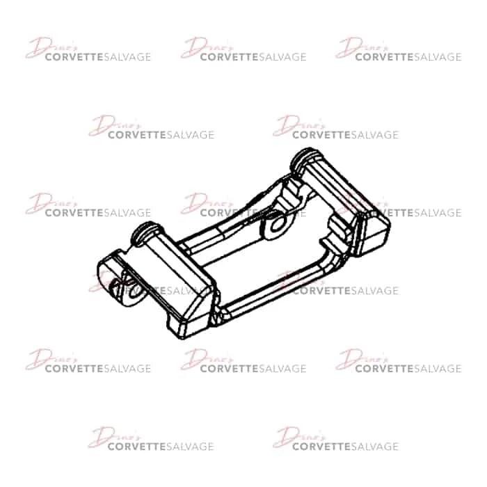 C5 Used Rear Brake Caliper Stop Bracket 1997-2004