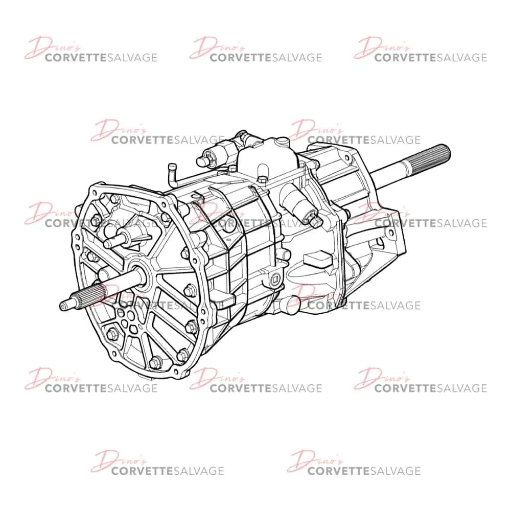 C6 Used Z06 6-Speed Manual Transmission 2006-2007