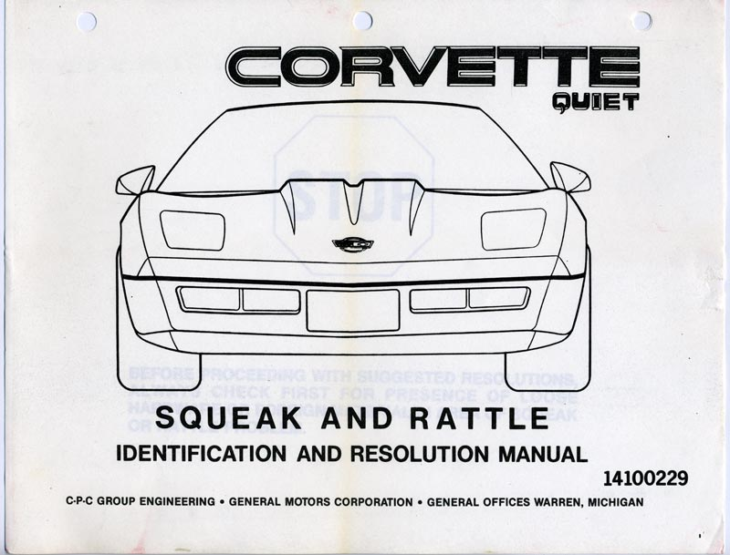 1984 Corvette C4: Handling Updates, Chassis Engineering