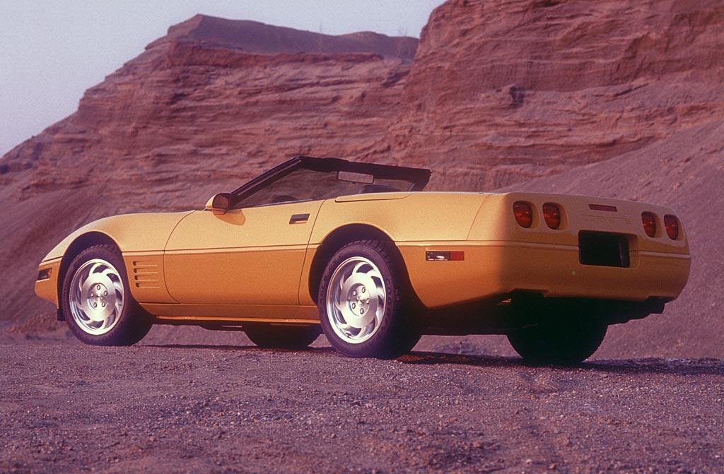 Coupe Color 1993 Corvette Chart