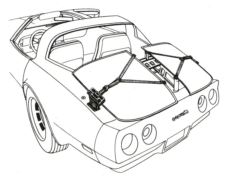 1980 Corvette C3: Improved Seats