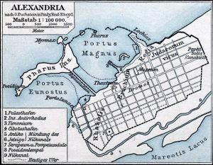 Map of Alexandria