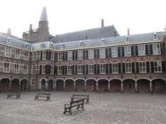 Het gebouw van de Eerste Kamer op het Binnenhof.