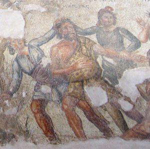 The satyr Marsyas.