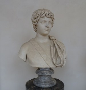 A bust of the young Caracalla (Museo Nazionale Romano, Rome).