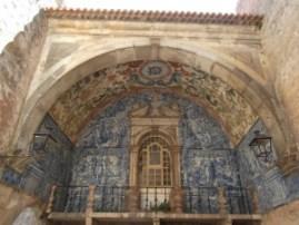 Porta da Vila interior.