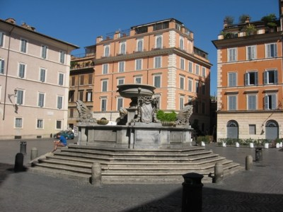Carlo Fontana's fountain.
