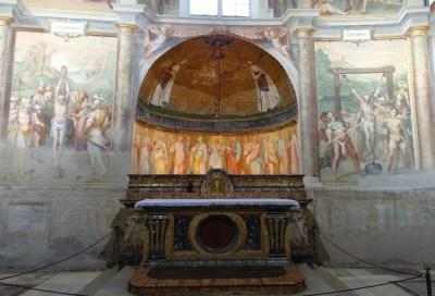 The chapel of Saints Primus and Felicianus.
