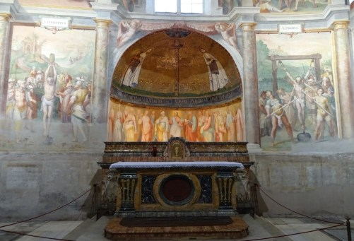 The chapel of Saints Primus and Felicianus.
