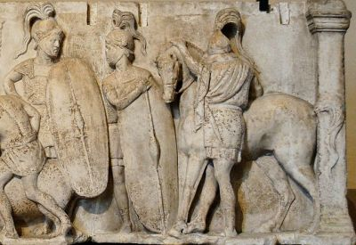 Republican legionaries, late 2nd century BCE (photo: Jastrow).