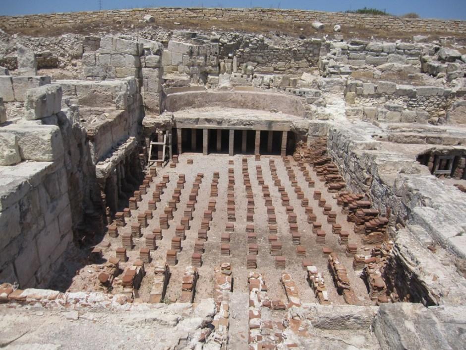 Roman baths.