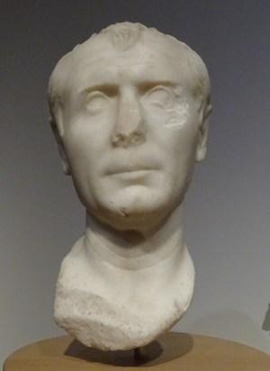 Bust of Caesar (Rijksmuseum van Oudheden, Leiden).