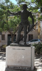 Statue of Cabral.
