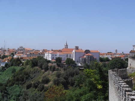 Santarém, seen from the Jardim das Portas do Sol.