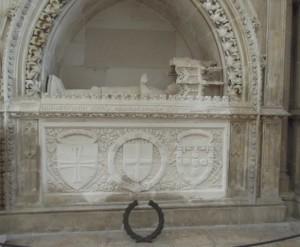 Henry the Navigator's tomb.