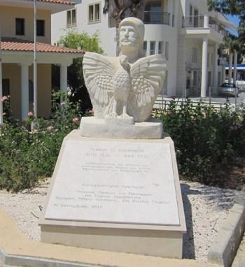 Monument for Kimon the Athenian, Polis.