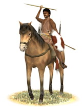Numidian cavalry, often employed by the Romans (source: Europa Barbarorum).