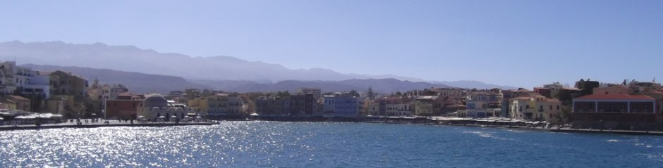 Chania harbour.