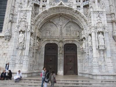 Southern portal.