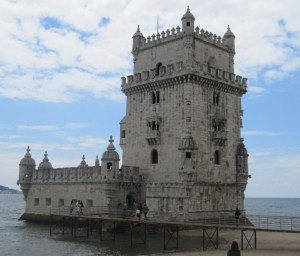 The Torre de Belém.