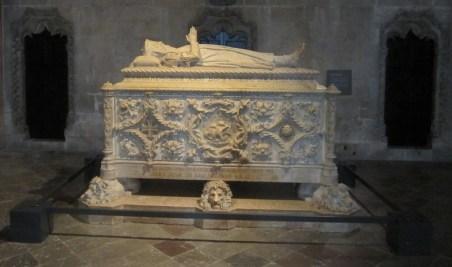 Tomb of Vasco da Gama.