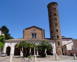 The Sant'Apollinare Nuovo.