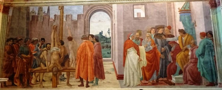 Brancaccikapel - Masolino, Masaccio, Lippi12