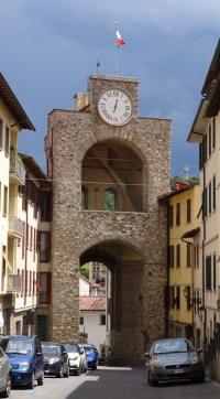 The Porta Aretina.