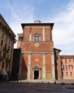 The Trivulzio chapel.